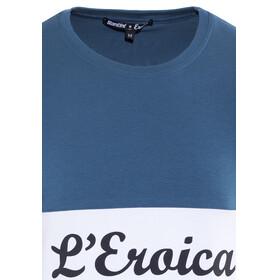 Santini Eroica T-shirt Herrer blå/hvid
